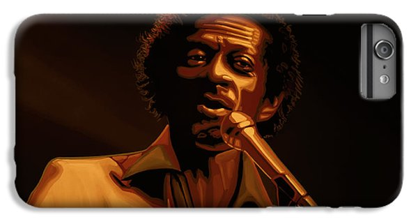 Chuck Berry Gold IPhone 7 Plus Case by Paul Meijering