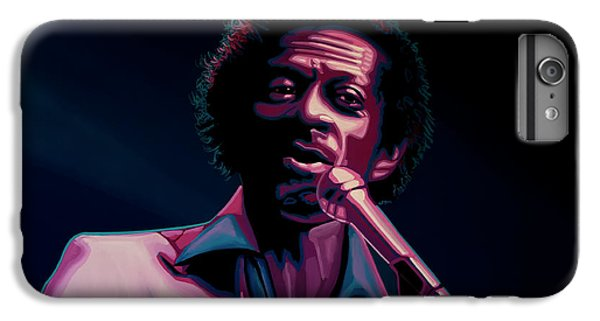 Rhythm And Blues iPhone 7 Plus Case - Chuck Berry by Paul Meijering