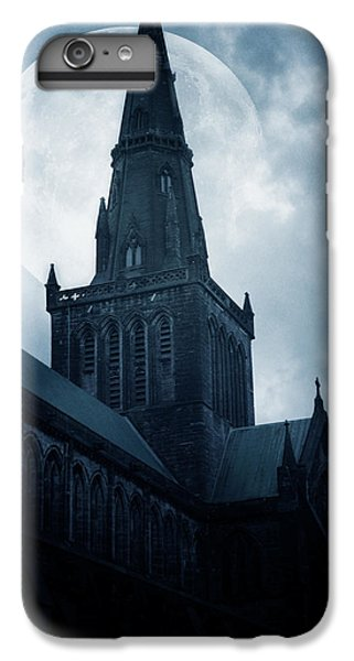 Moon iPhone 7 Plus Case - Glasgow Cathedral by Cambion Art