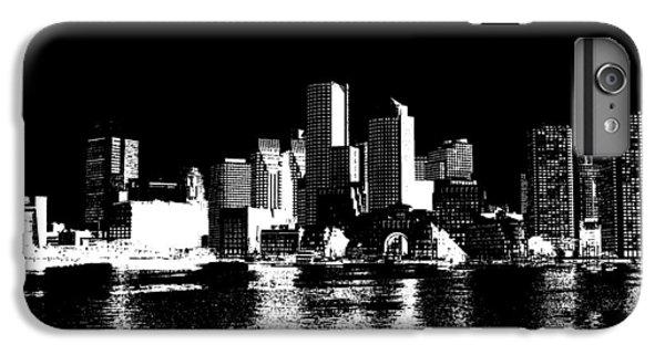 City Of Boston Skyline   IPhone 7 Plus Case