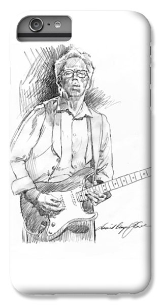 Clapton Riff IPhone 7 Plus Case by David Lloyd Glover