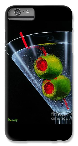 Cocktails iPhone 7 Plus Case - Classic Martini by Michael Godard