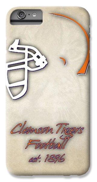 Clemson iPhone 7 Plus Case - Clemson Tigers Helmet 2 by Joe Hamilton