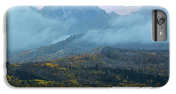 IPhone 7 Plus Case featuring the photograph Cloudy Peaks by Aaron Spong