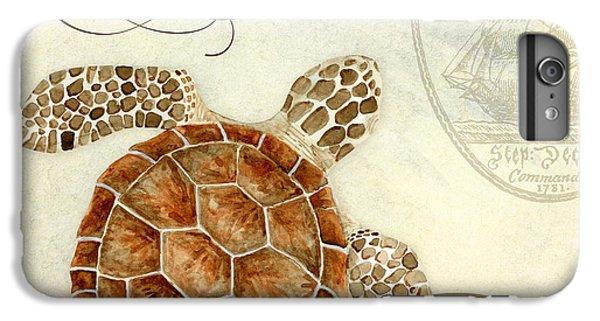 Turtle iPhone 7 Plus Case - Coastal Waterways - Green Sea Turtle 2 by Audrey Jeanne Roberts