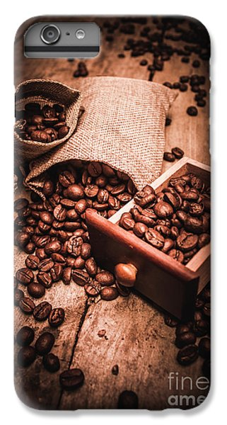 Coffee Bean Art IPhone 7 Plus Case by Jorgo Photography - Wall Art Gallery