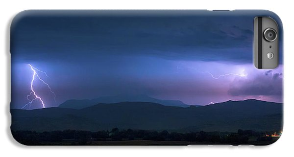 IPhone 7 Plus Case featuring the photograph Colorado Rocky Mountain Foothills Storm by James BO Insogna