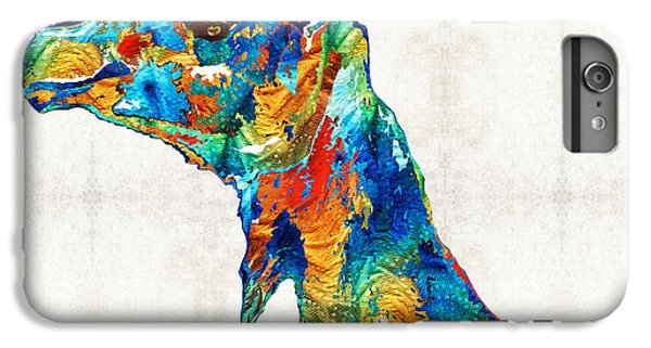 Colorful Camel Art By Sharon Cummings IPhone 7 Plus Case by Sharon Cummings