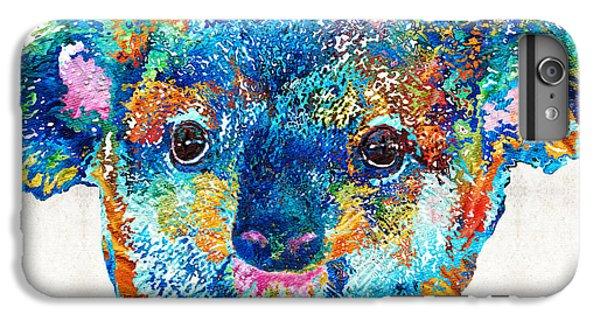 Colorful Koala Bear Art By Sharon Cummings IPhone 7 Plus Case by Sharon Cummings