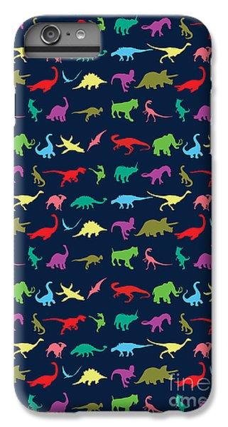 Colorful Mini Dinosaur IPhone 7 Plus Case by Naviblue