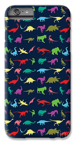 Colorful Mini Dinosaur IPhone 7 Plus Case by Naviblue