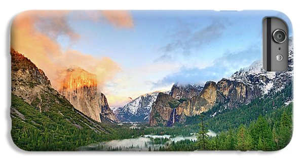 Mountain iPhone 7 Plus Case - Colors Of Yosemite by Jamie Pham