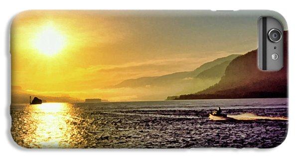Jet Ski iPhone 7 Plus Case - Columbia River 001 by Scott McAllister