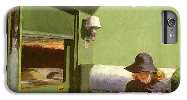 Train iPhone 7 Plus Case - Compartment C by Edward Hopper