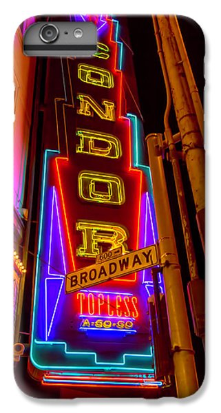 Condor Neon On Broadway IPhone 7 Plus Case by Garry Gay