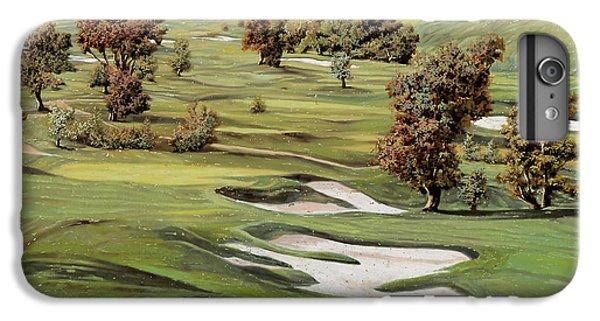 Golf iPhone 7 Plus Case - Cordevalle Golf Course by Guido Borelli
