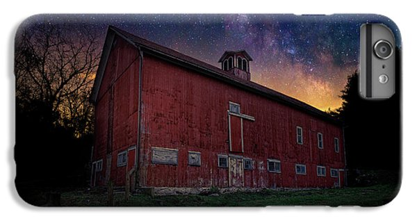 IPhone 7 Plus Case featuring the photograph Cosmic Barn by Bill Wakeley