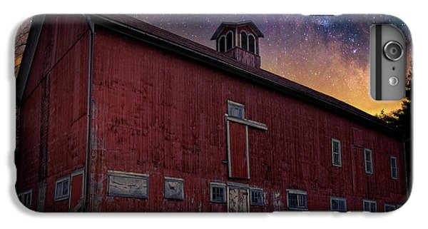 IPhone 7 Plus Case featuring the photograph Cosmic Barn Square by Bill Wakeley