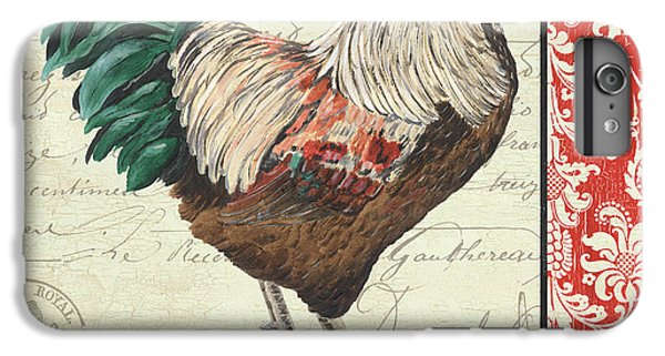Rooster iPhone 7 Plus Case - Country Rooster 1 by Debbie DeWitt