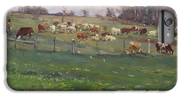 Georgetown iPhone 7 Plus Case - Cows In A Farm, Georgetown  by Ylli Haruni
