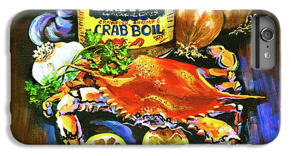 Onion iPhone 7 Plus Case - Crab Fixin's by Dianne Parks