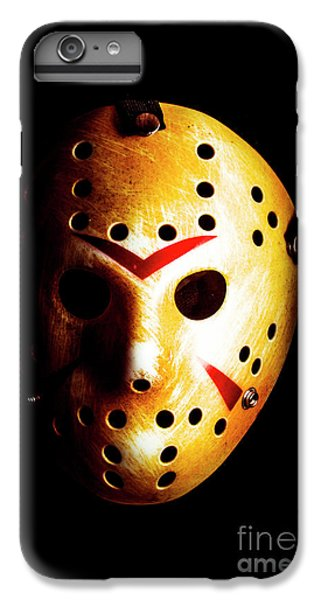 Hockey iPhone 7 Plus Case - Creepy Keeper by Jorgo Photography - Wall Art Gallery