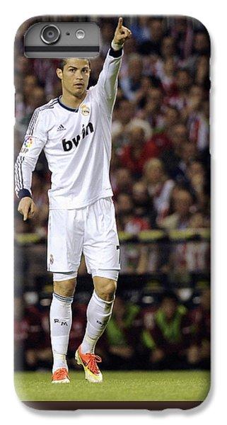 Cristiano Ronaldo iPhone 7 Plus Case - Cristiano Ronaldo 31 by Rafa Rivas