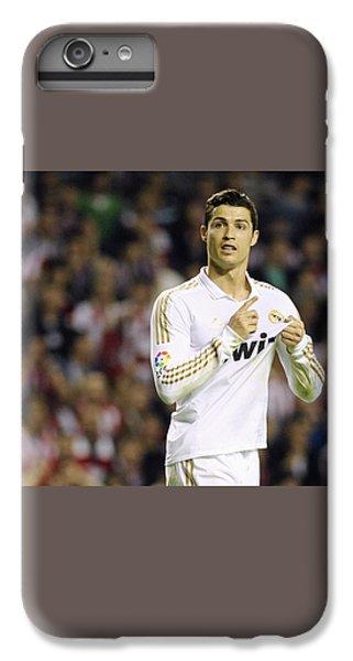 Cristiano Ronaldo 4 IPhone 7 Plus Case by Rafa Rivas