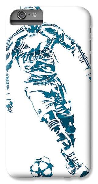 Cristiano Ronaldo iPhone 7 Plus Case - Cristiano Ronaldo Real Madrid Pixel Art 1 by Joe Hamilton