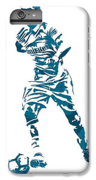 Cristiano Ronaldo iPhone 7 Plus Case - Cristiano Ronaldo Real Madrid Pixel Art 3 by Joe Hamilton