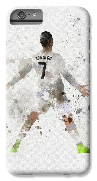 Cristiano Ronaldo iPhone 7 Plus Case - Cristiano Ronaldo by Rebecca Jenkins