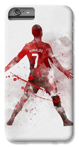 Cristiano Ronaldo iPhone 7 Plus Case - Cristiano Ronaldo United by Rebecca Jenkins
