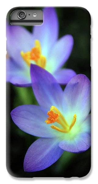IPhone 7 Plus Case featuring the photograph Crocus In Bloom by Jessica Jenney