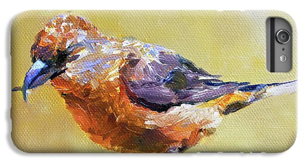 Crossbill IPhone 7 Plus Case by Jan Hardenburger