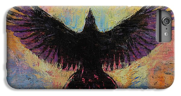 Crow IPhone 7 Plus Case by Michael Creese