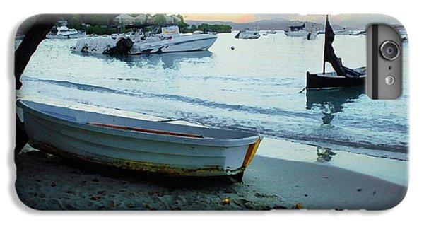Shrimp Boats iPhone 7 Plus Case - Cruz Bay Morning by Michael Thomas