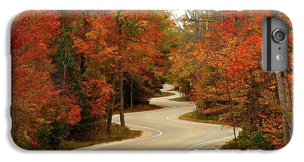 Rural Scenes iPhone 7 Plus Case - Curvy Fall by Adam Romanowicz