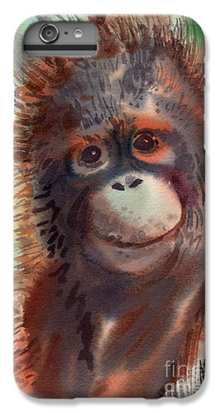 Orangutan iPhone 7 Plus Case - My Precious by Donald Maier