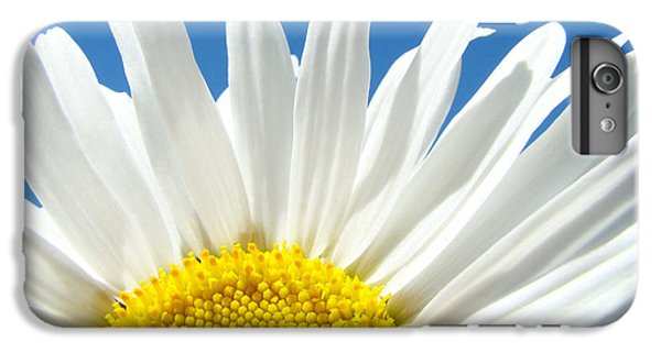 Daisy Art Prints White Daisies Flowers Blue Sky IPhone 7 Plus Case by Baslee Troutman