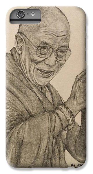 Dalai Lama Tenzin Gyatso IPhone 7 Plus Case by Kent Chua