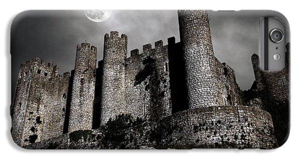 Moon iPhone 7 Plus Case - Dark Castle by Carlos Caetano