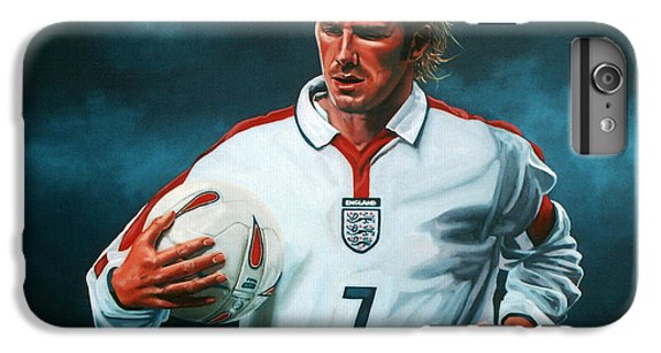 Athletes iPhone 7 Plus Case - David Beckham by Paul Meijering