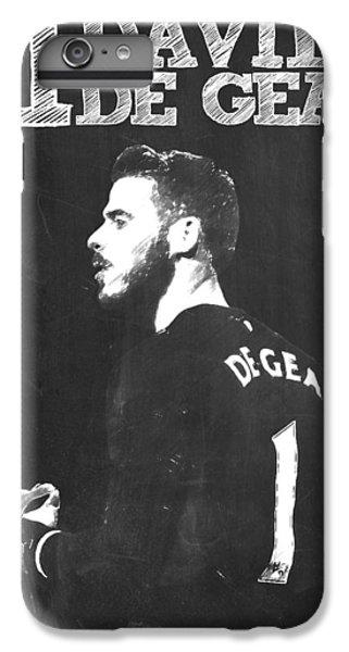 David De Gea IPhone 7 Plus Case by Semih Yurdabak