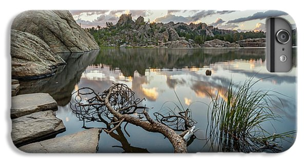 IPhone 7 Plus Case featuring the photograph Dawn At Sylvan Lake by Adam Romanowicz