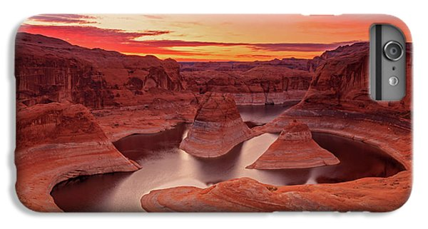 Dawn Sky Above Reflection Canyon. IPhone 7 Plus Case by Johnny Adolphson