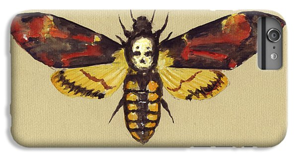 Hawk iPhone 7 Plus Case - Death Head Hawk Moth by Juan Bosco