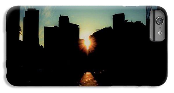 City Sunset iPhone 7 Plus Case - Deep Shadow by Hyuntae Kim