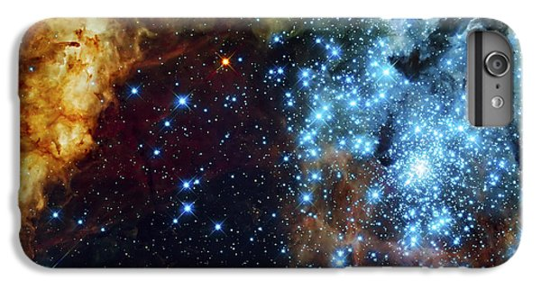 Space iPhone 7 Plus Case - Deep Space Fire And Ice 2 by Jennifer Rondinelli Reilly - Fine Art Photography