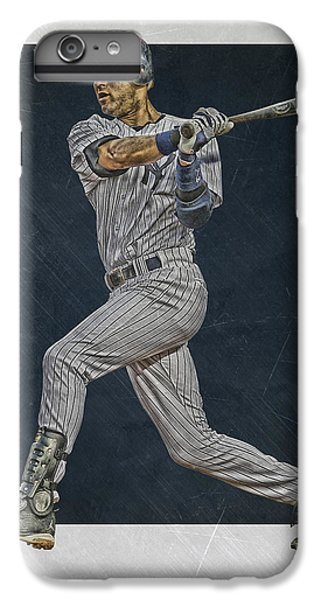 Derek Jeter iPhone 7 Plus Case - Derek Jeter New York Yankees Art 2 by Joe Hamilton