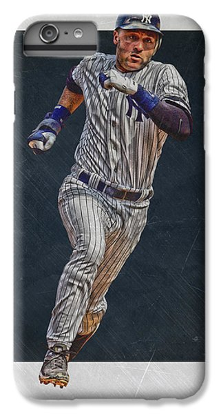 Derek Jeter iPhone 7 Plus Case - Derek Jeter New York Yankees Art 3 by Joe Hamilton